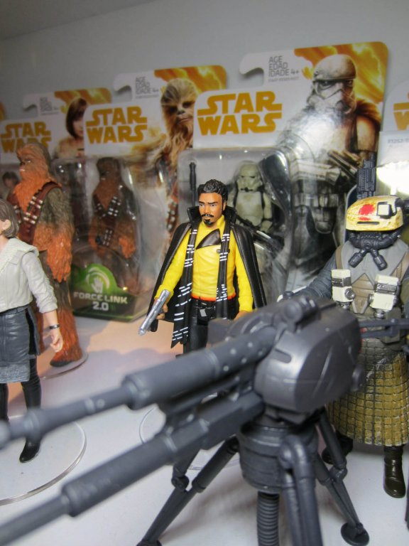 Solo 3 3//4 inch Action Figure Wave 4 Star Wars Mimban Val