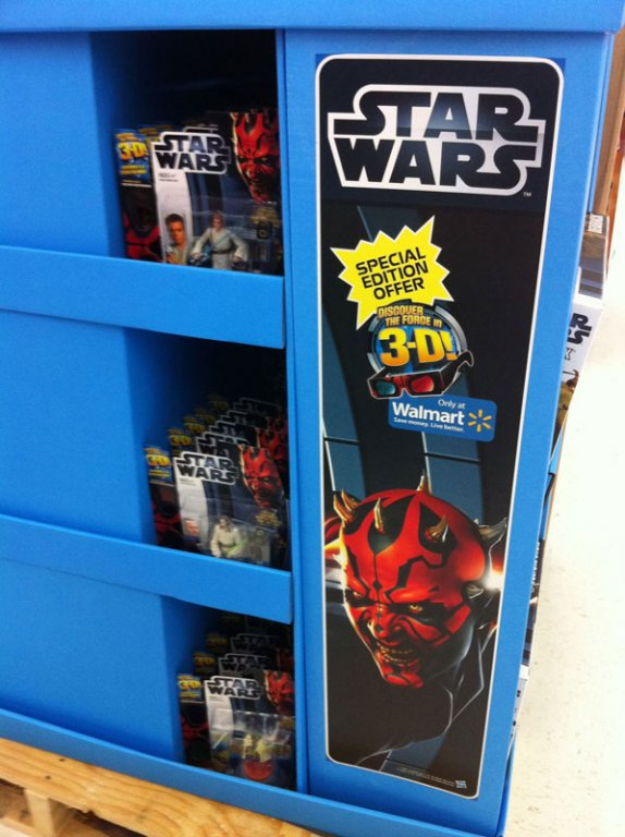 The Force Discovered Walmart Exclusives Rolling Out