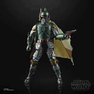 STAR WARS: THE BLACK SERIES CARBONIZED COLLECTION 6-INCH BOBA FETT Figure
